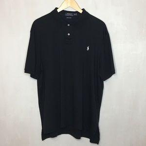 Men's Black Polo By Ralph Lauren Shirt - Size XXL